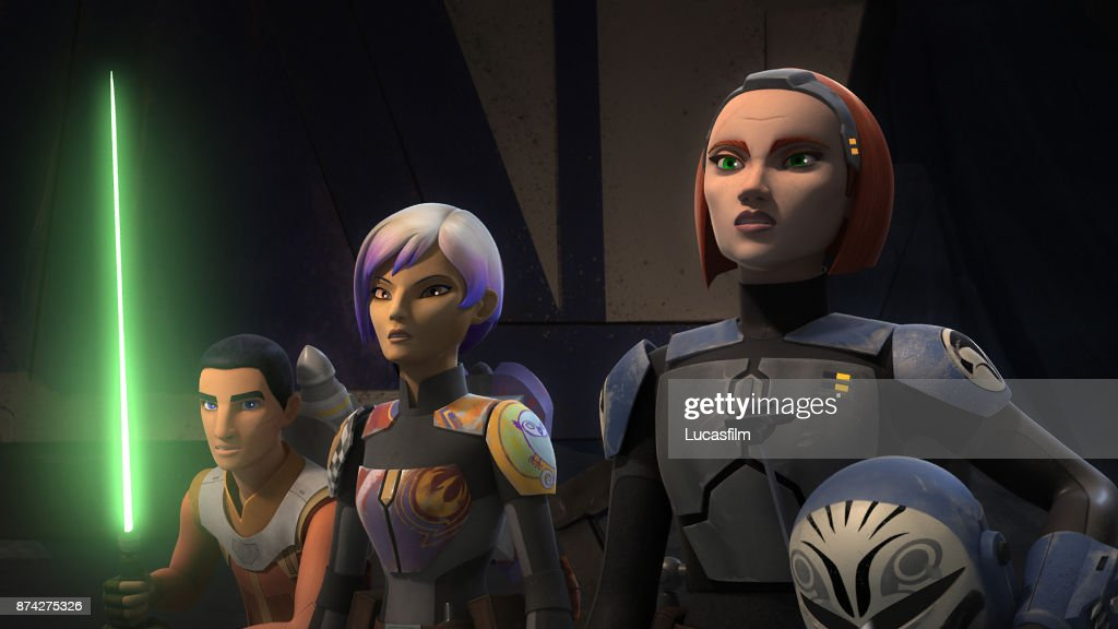 REBELS - 'Heroes of Mandalore' - Sabine leads Ezra, Kanan and an army of her fellow Mandalorians back to her home world to rescue her father from the clutches of the Empire. When she discovers the Empire has resurrected a devastating weapon, she must decide whether to destroy it or use it herself. This episode of Star Wars Rebels airs Monday, October 16 (12:30 - 1:00 A.M. EDT) on Disney XD. EZRA, SABINE, BO