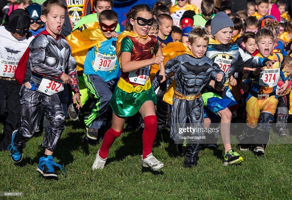 Heroes Rush In : Stock Photo