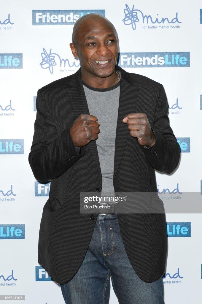 Herol Graham attends the Mind Mental Health Media Awards at BFI Southbank on November 19, 2012 in London, England.