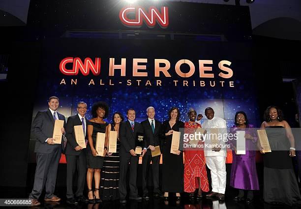 CNN Heros Dale Beatty Richard Nares Robin Emmons Danielle Gletow Chad Pregracke CNN's Anderson Cooper Laura Stachel Kakenya Ntaiya Georges Bwelle...