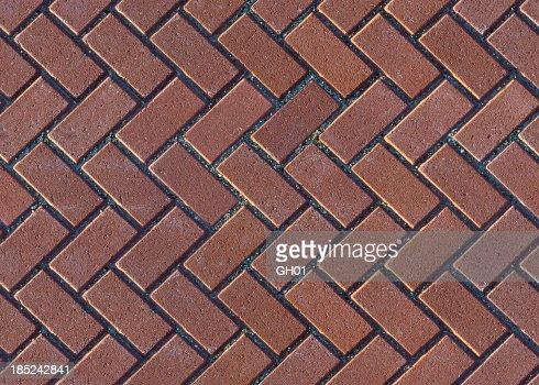 Herringbone Brick Pavers