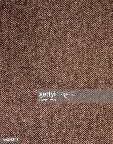 Herringbone Tweed Background