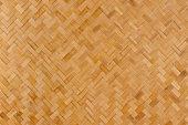 Herring-bone woven reed background.