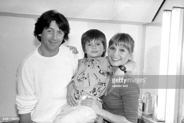 Herrmann Herbert Actor Switzerland with Susanne Uhlen and her son Florian
