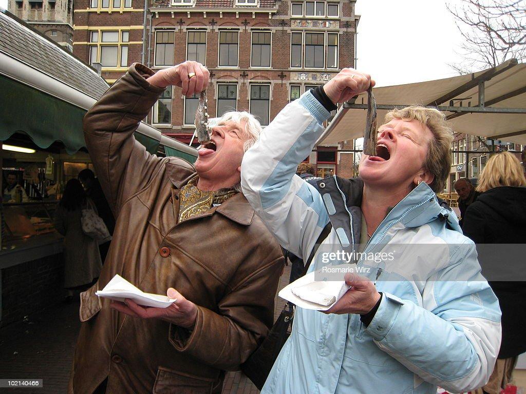 Herrrrrings ..... the Dutch fast food