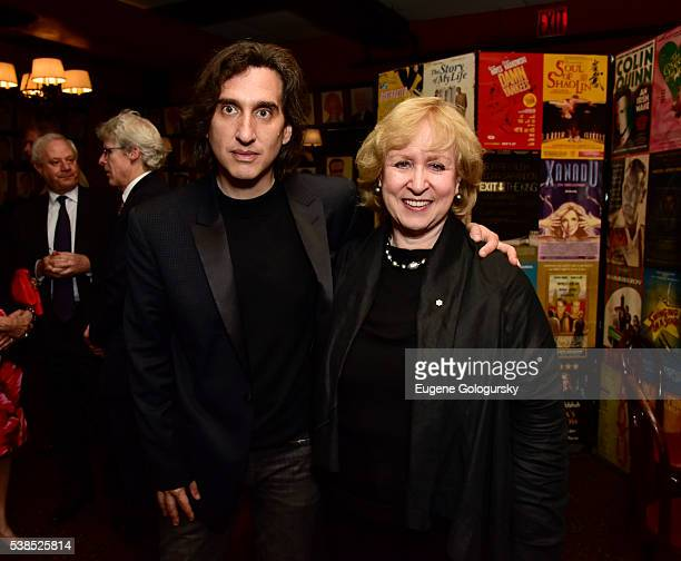 Hershey Felder and Kim Campbell attend the Hershey Felder As Irving Berlin At The Town Hall NYC June 6 on June 6 2016 in New York City