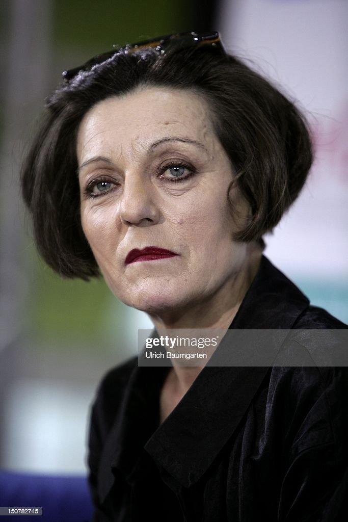 MAIN, Herta MUELLER, Romanian-born German novelist, poet and essayist and Nobel Prize winner for Literature 2009 at Frankfurt Book Fair 2009.