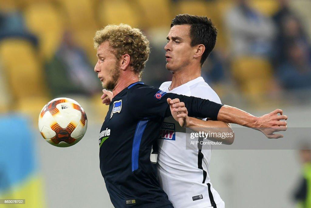 Zorya Lugansk v Hertha BSC - UEFA Europa League