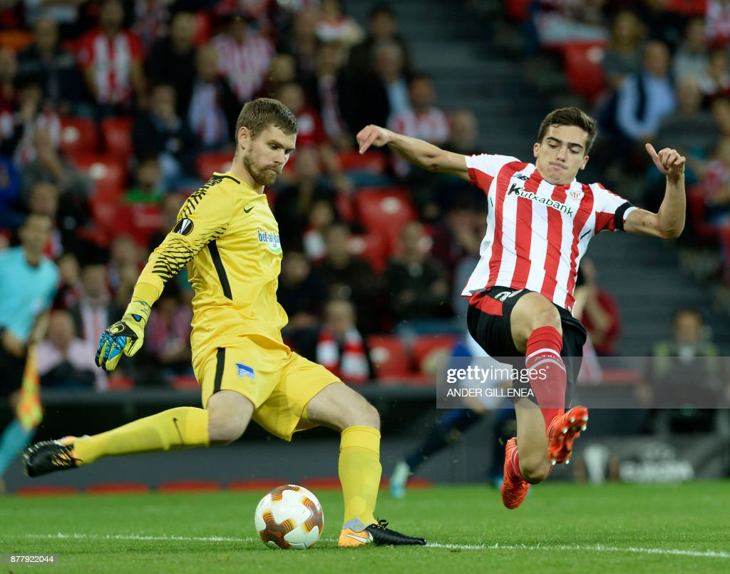 Athletic Bilbao v Hertha BSC - UEFA Europa League