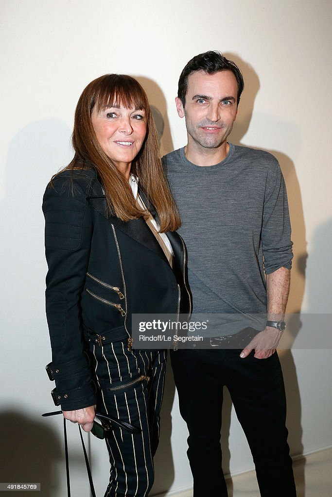 <a gi-track='captionPersonalityLinkClicked' href=/galleries/search?phrase=Herve+Ghesquiere&family=editorial&specificpeople=6912199 ng-click='$event.stopPropagation()'>Herve Ghesquiere</a> (R) and a guest attend the Louis Vuitton Cruise Line Show 2015 After Show Cocktail at Palais Princier on May 17, 2014 in Monte-Carlo, Monaco.