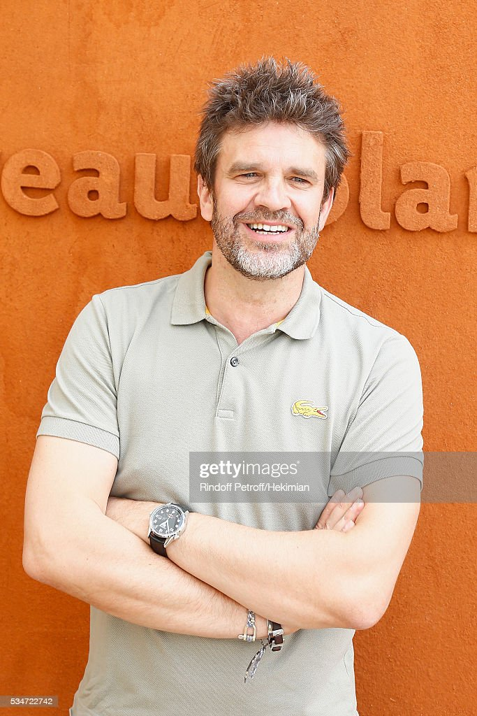 Herve Mathoux attends the French Tennis Open Day 6 at Roland Garros on May 27, 2016 in Paris, France.