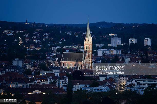 Herz-Jesu-Kirche, Graz, Styria, Austria, Europe
