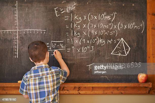 He's a master at math