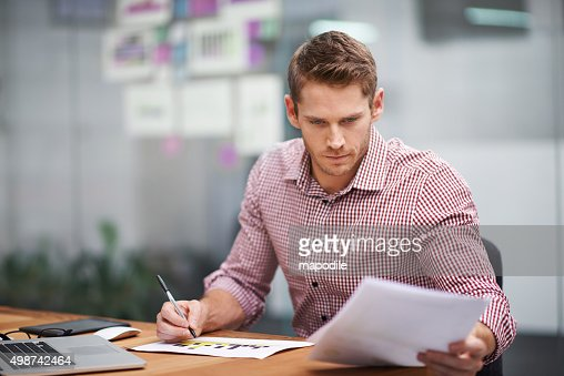 He's a real go-getter : Stock Photo