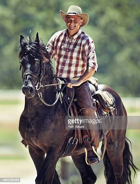 He's a true cowboy