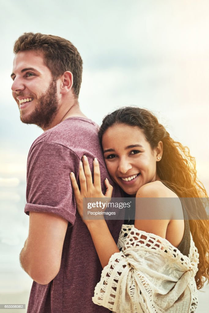 He's all I'll ever need : Stock Photo