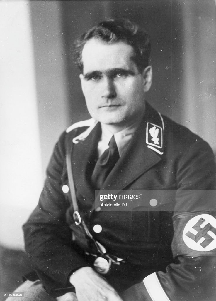 rudolf hess getty images