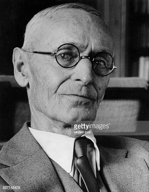 Hesse Hermann Schriftsteller D Aufnahme von Fritz Eschen 1956