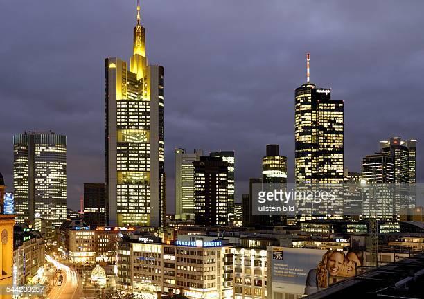 DEUTSCHLAND Hessen Frankfurt am Main Europaeische Zentralbank CommerzbankDresdner Bank und Hessische Landesbank