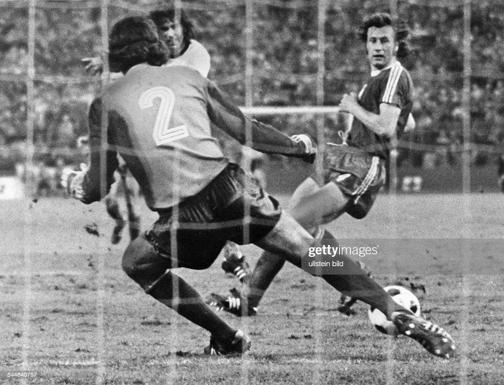 Frankfurt WM 1974 Deutschland Polen