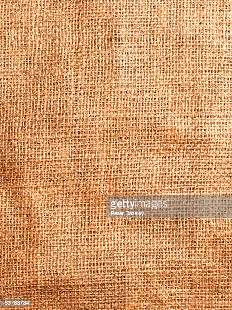 Hessian background.