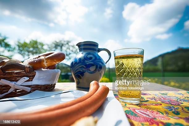 Hessian Cider and Jug, Bembel, Aeppelwoi, Aeppler, Apfelwein