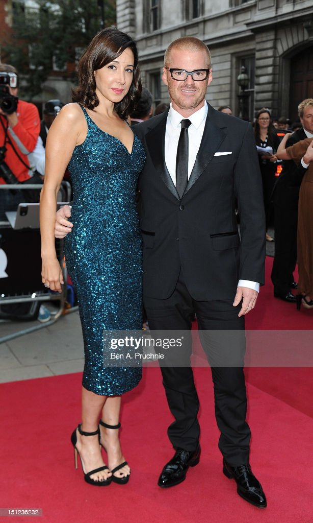 <a gi-track='captionPersonalityLinkClicked' href=/galleries/search?phrase=Heston+Blumenthal&family=editorial&specificpeople=693773 ng-click='$event.stopPropagation()'>Heston Blumenthal</a> with Suzanne Pirret attends the GQ Men of the Year Awards 2012 at The Royal Opera House on September 4, 2012 in London, England.