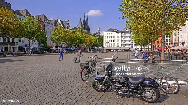 Heumarkt Square, Cologne, Rhine