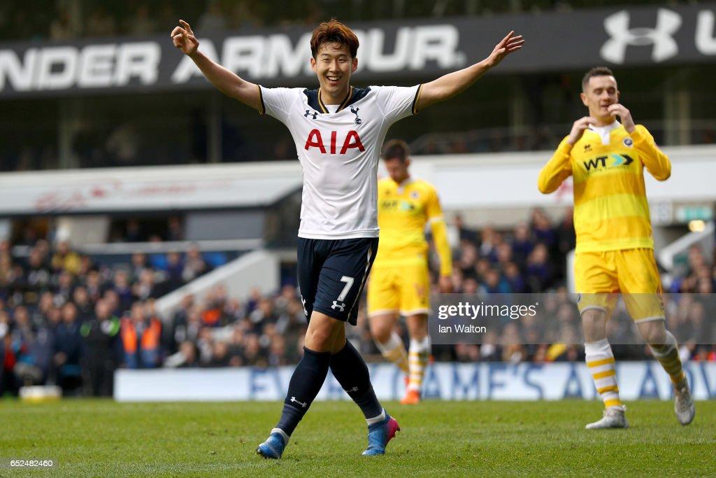 Tottenham Hotspur v Millwall - The Emirates FA Cup Quarter-Final