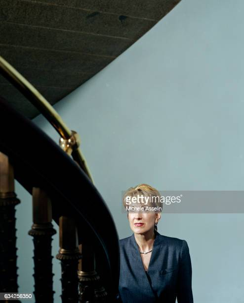 HewlettPackard CEO Carly Fiorina poses at a portrait shoot on November 21 2003 in New York City