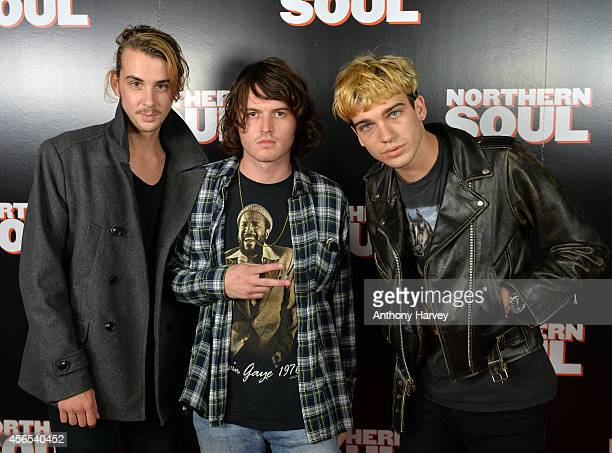 Hey Roco attend the UK Gala screening of 'Northern Soul' at Curzon Soho on October 2 2014 in London England