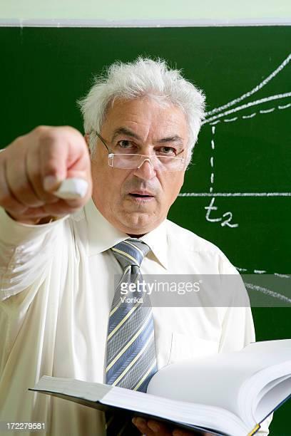 Hey you! To the blackboard!