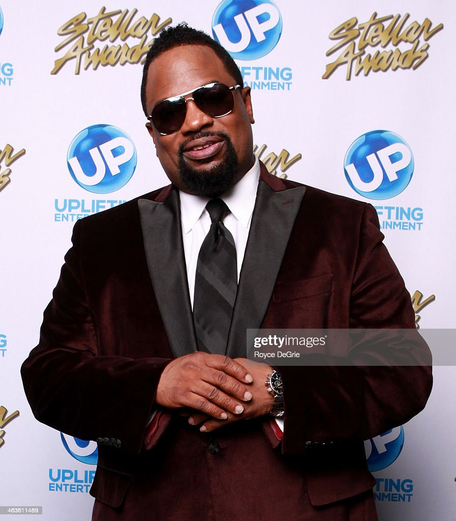 Hezekiah Walker backstage at the 2014 Stellar Awards at Nashville Municipal Auditorium on January 18, 2014 in Nashville, Tennessee.