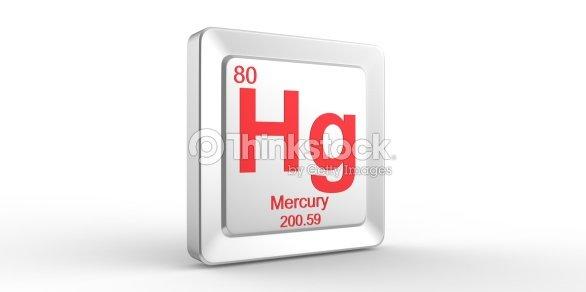 Mercury Periodic Table Symbol 69069 Loadtve