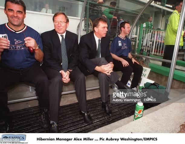 Hibernian Manager Alex Miller