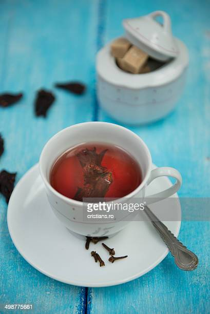 Hibiscus flavored tea