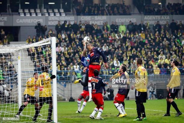 Hicham RHOUFIR / Guillaume HOARAU Quevilly / Paris Saint Germain 1/2 finale Coupe de France Stade Michel D'Ornano Caen