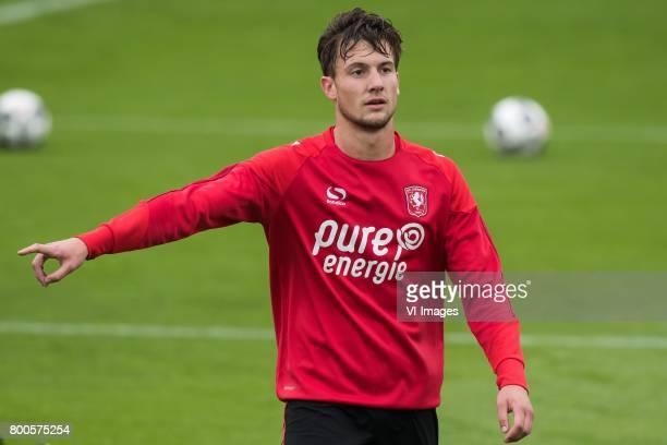 Hidde ter Avest of FC Twenteduring a training session at Trainingscentrum Hengelo on June 24 2017 in Hengelo The Netherlands
