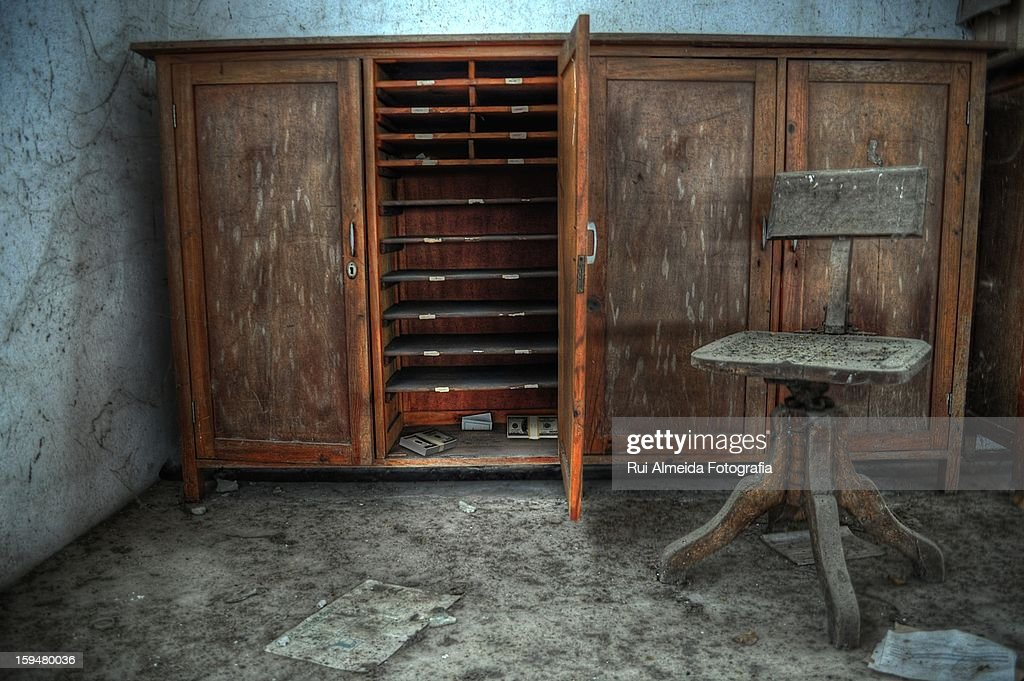 Hidden and lost money : Stock Photo