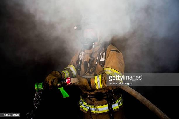 Versteckte Feuerwehrmann