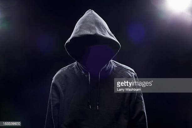 Hidden Man in hooded top