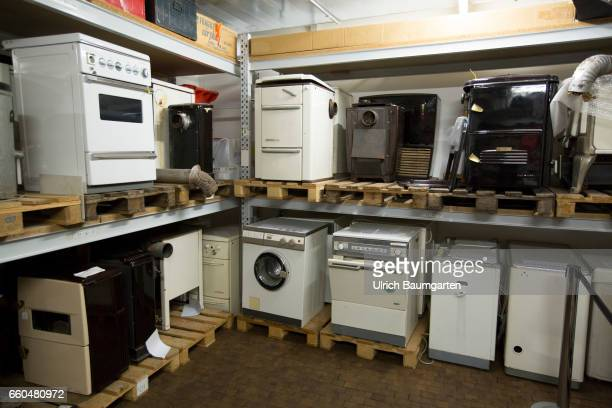 Hidden treasures in the basement of the Museum Haus der Geschichte of the Federal Republic of Germany in Bonn Various household appliances such as...