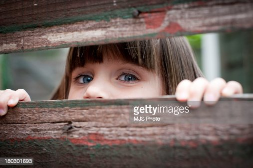 Hide and Seek : Stock Photo