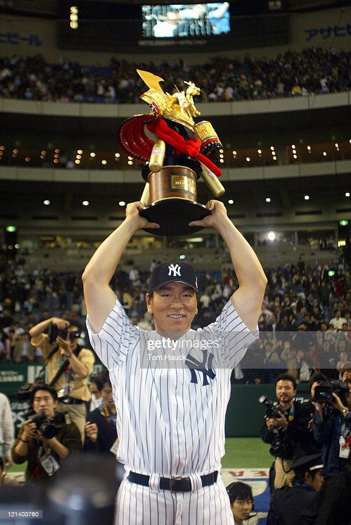 New York Yankees vs Tampa Bay Devil Rays - Tokyo - March 31, 2004