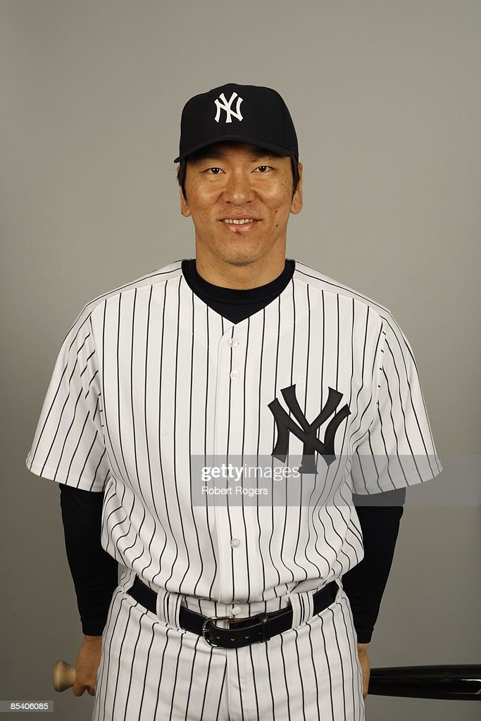 Hideki Matsui of the New York Yankees poses during Photo Day on Thursday, February 19, 2009 at Steinbrenner Field in Tampa, Florida.