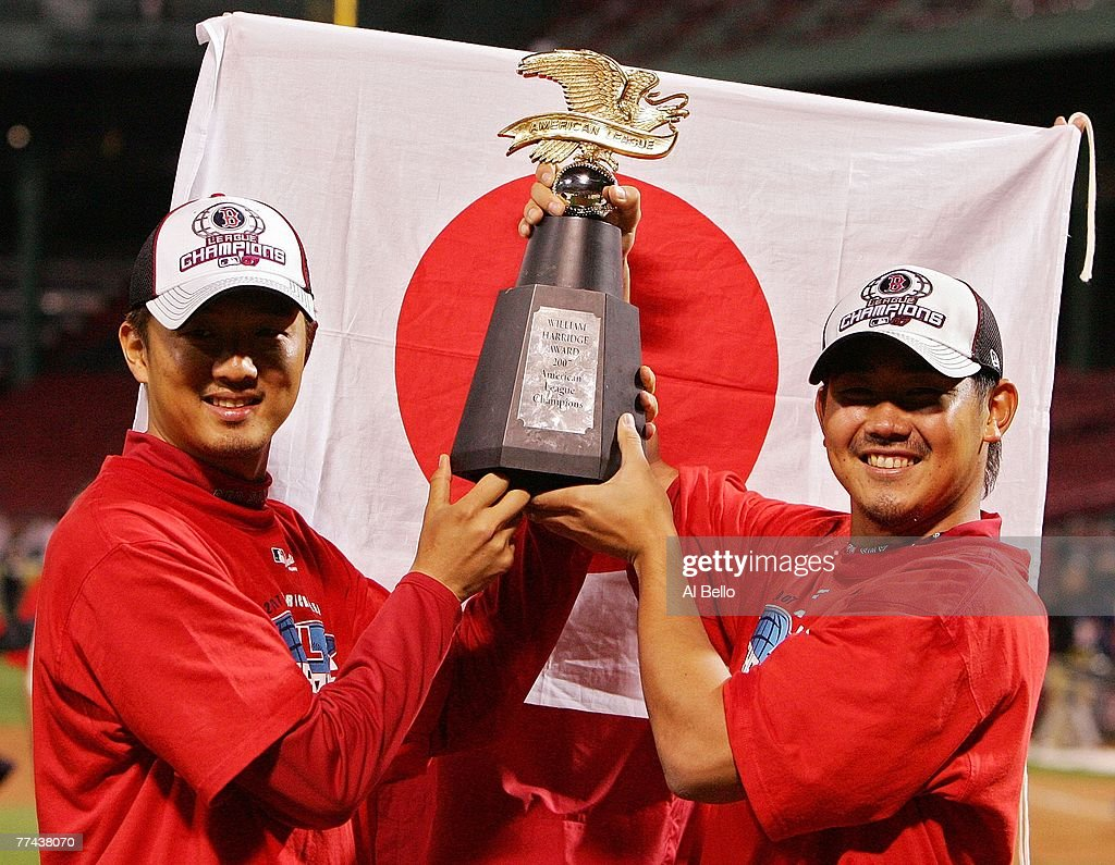hideki-okajima-and-daisuke-masuzaka-of-t