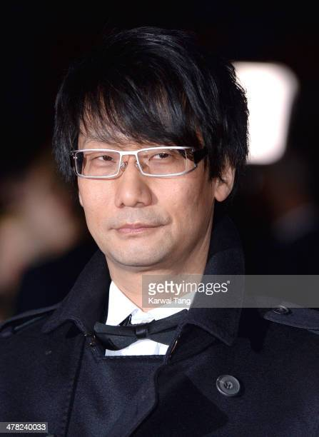 Hideo Kojima attends the 2014 British Academy Games Awards at Tobacco Dock on March 12 2014 in London England