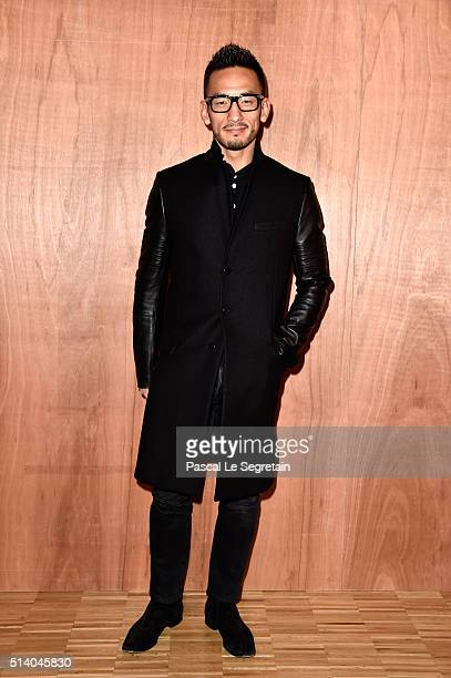 Hidetoshi Nakata attends the Givenchy show as part of the Paris Fashion Week Womenswear Fall/Winter 2016/2017 on March 6 2016 in Paris France