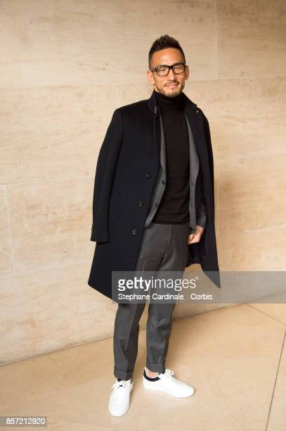 Hidetoshi Nakata attends the Louis Vuitton show as part of the Paris Fashion Week Womenswear Spring/Summer 2018 at Musee du Louvre on October 3 2017...