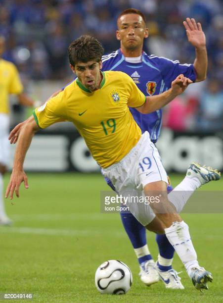 JUNINHO / Hidetoshi NAKATA Bresil / Japon Coupe du Monde 2006